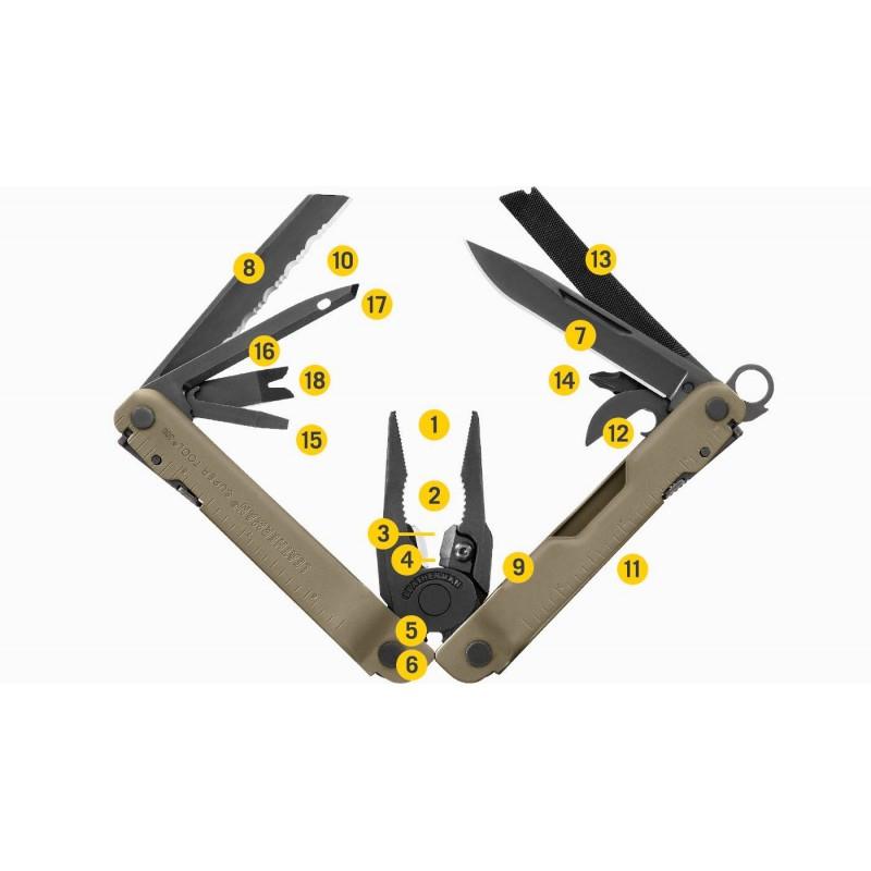 Pochette cuir avec gousset Réf 17x12